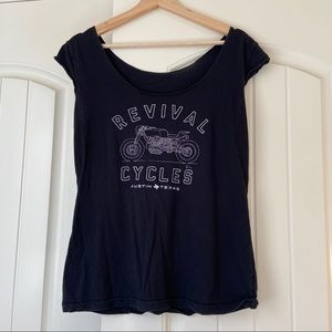 Revival Cycles Graphic Cap Sleeve Tee